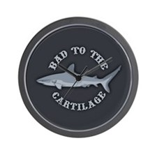 Bad to the Cartilage Wall Clock
