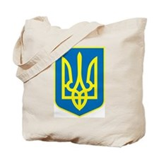 Ukraine Coat of Arms Tote Bag