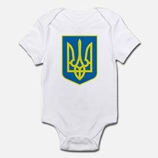 Ukraine Coat of Arms Infant Creeper