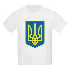 Ukraine Coat of Arms Kids T-Shirt
