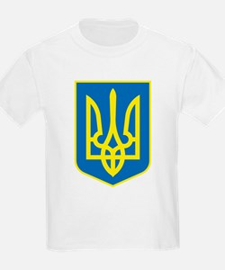 Ukraine Coat of Arms Kids T-Shirt
