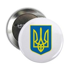 "Ukraine Coat of Arms 2.25"" Button (10 pack)"