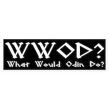 WWOD Bumper Bumper Sticker