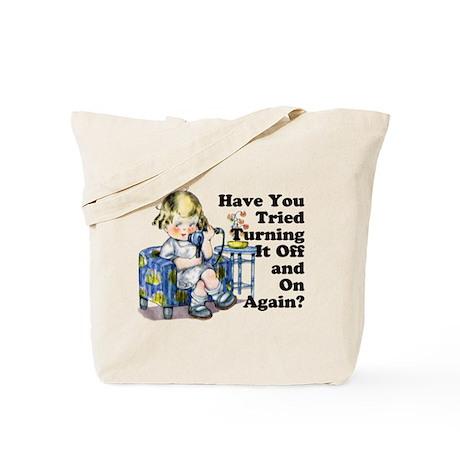 Funny IT Tote Bag