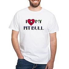 I LOVE MY PIT BULL Shirt