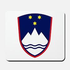 Slovenia Coat of Arms Mousepad