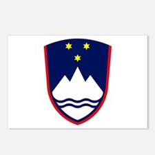 Slovenia Coat of Arms Postcards (Package of 8)
