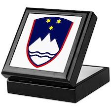 Slovenia Coat of Arms Keepsake Box