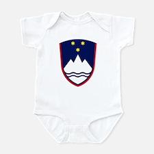 Slovenia Coat of Arms Infant Creeper