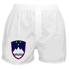 Slovenia Coat of Arms Boxer Shorts