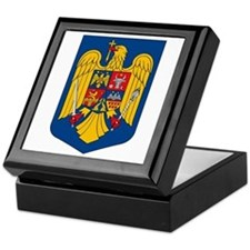 Romania Coat of Arms Keepsake Box