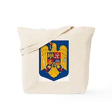 Romania Coat of Arms Tote Bag
