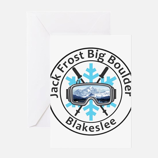Jack Frost Big Boulder - Blakesle Greeting Cards