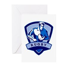 Rugby Greeting Cards (Pk of 20)
