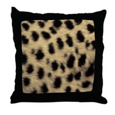 Cheetah Print Throw Pillow