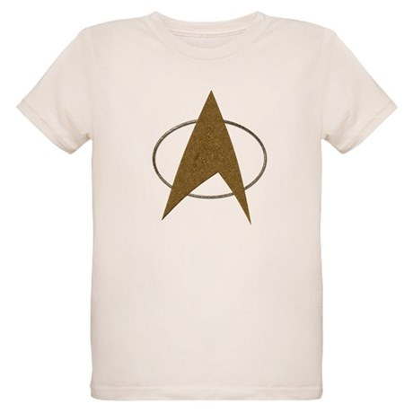 Star Trek Badge (TOS) Organic Kids T-Shirt