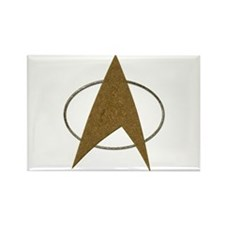 Star Trek Badge (TOS) Rectangle Magnet