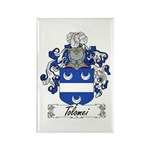 Tolomei Family Crest Rectangle Magnet (100 pack)