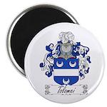 Tolomei Family Crest Magnet