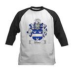 Tolomei Family Crest Kids Baseball Jersey