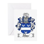 Tolomei Family Crest Greeting Cards (Pk of 10)