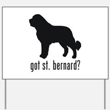 Saint Bernard 2 Yard Sign