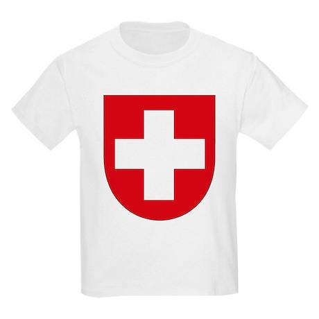 Switzerland Coat of Arms Kids T-Shirt