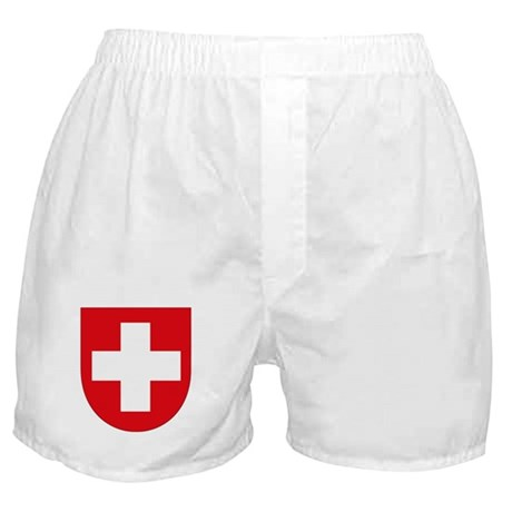 Switzerland Coat of Arms Boxer Shorts