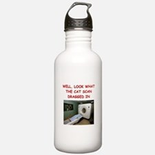 doctor joke Sports Water Bottle