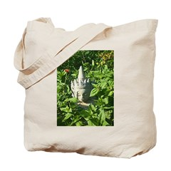 Chinese Garden Gnome Tote Bag