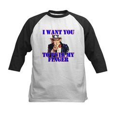 Pull My Finger Uncle Sam Tee