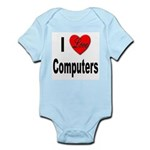 I Love Computers Infant Creeper