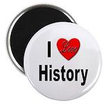 I Love History Magnet