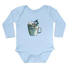 Offshore Cocoa Long Sleeve Infant Bodysuit