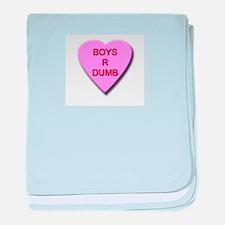 Boys R Dumb Infant Blanket