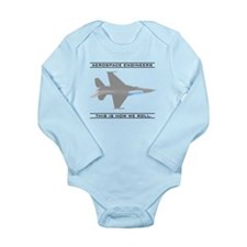 Aero Engineers: How We Roll Long Sleeve Infant Bod
