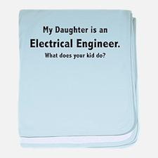 Electrical Engineer Daughter Infant Blanket