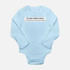Cute Rocket Long Sleeve Infant Bodysuit