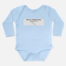 Rocket Scientist Son Long Sleeve Infant Bodysuit