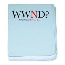 What Would Newton Do? Infant Blanket
