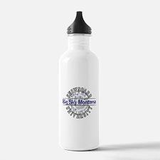 Snowboard Big Sky MT Water Bottle
