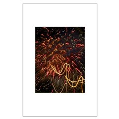 Fireworks Against the Stars Posters