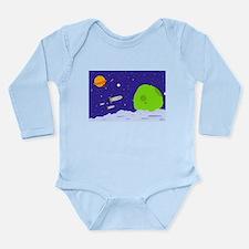Space Patrol Long Sleeve Infant Bodysuit