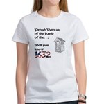 Battle of the Crapper Women's T-Shirt