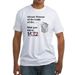 Battle of the Crapper Fitted T-Shirt