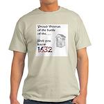 Battle of the Crapper Ash Grey T-Shirt