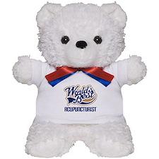 Worlds Best Acupuncturist Teddy Bear