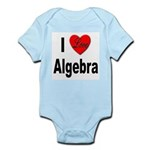 I Love Algebra Infant Creeper
