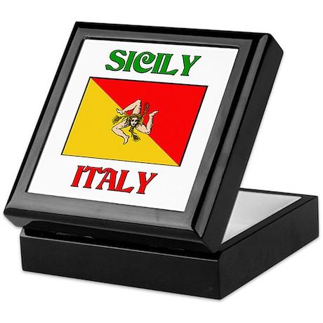 Sicily Keepsake Box