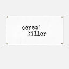 Cereal Killer Banner